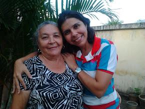 Minha mãe, luz da minha vida.