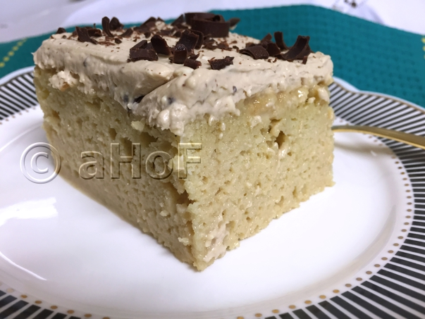 Harmony of Flavors: A Coffee Flavored Cuatro Leches Cake
