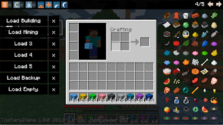 Too Many Items Mod for Minecraft 1.1