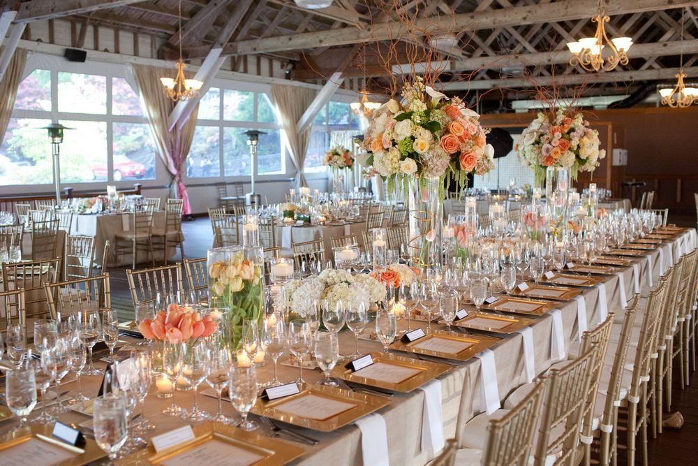 Elegant Barn Wedding Reception Decorations Flora Nova Design The An At