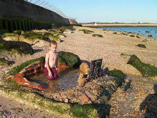 having fun on the southsea nudist beach
