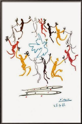 Youth dance, Picasso, every child is an artist,