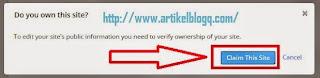 gambar Cara Terbaru Verifikasi Blog Ke Alexa Tampilan 2015