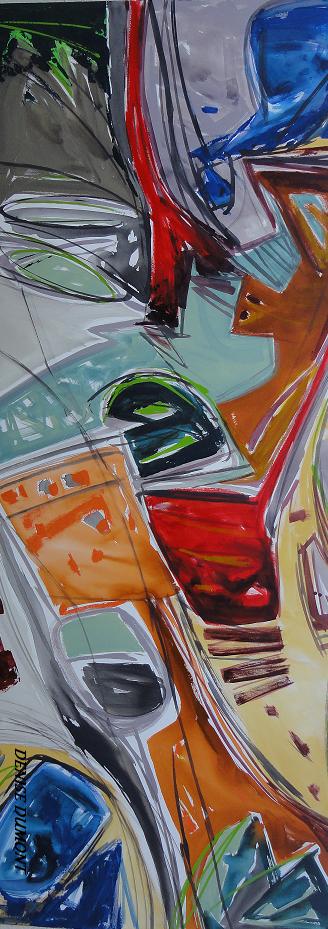 Tecnica pintura abstrata