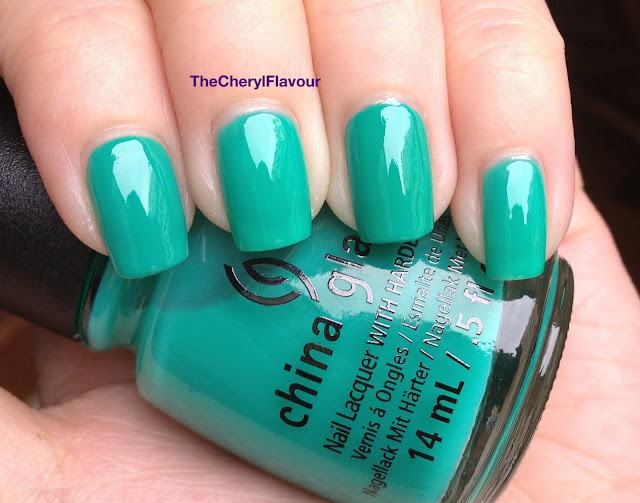 China Glaze Keepin' It Teal vs China Glaze Four Leaves Clover
