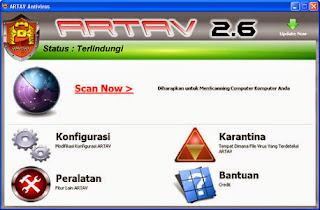 Download Artav Antivirus Edisi Revisi Terbaru