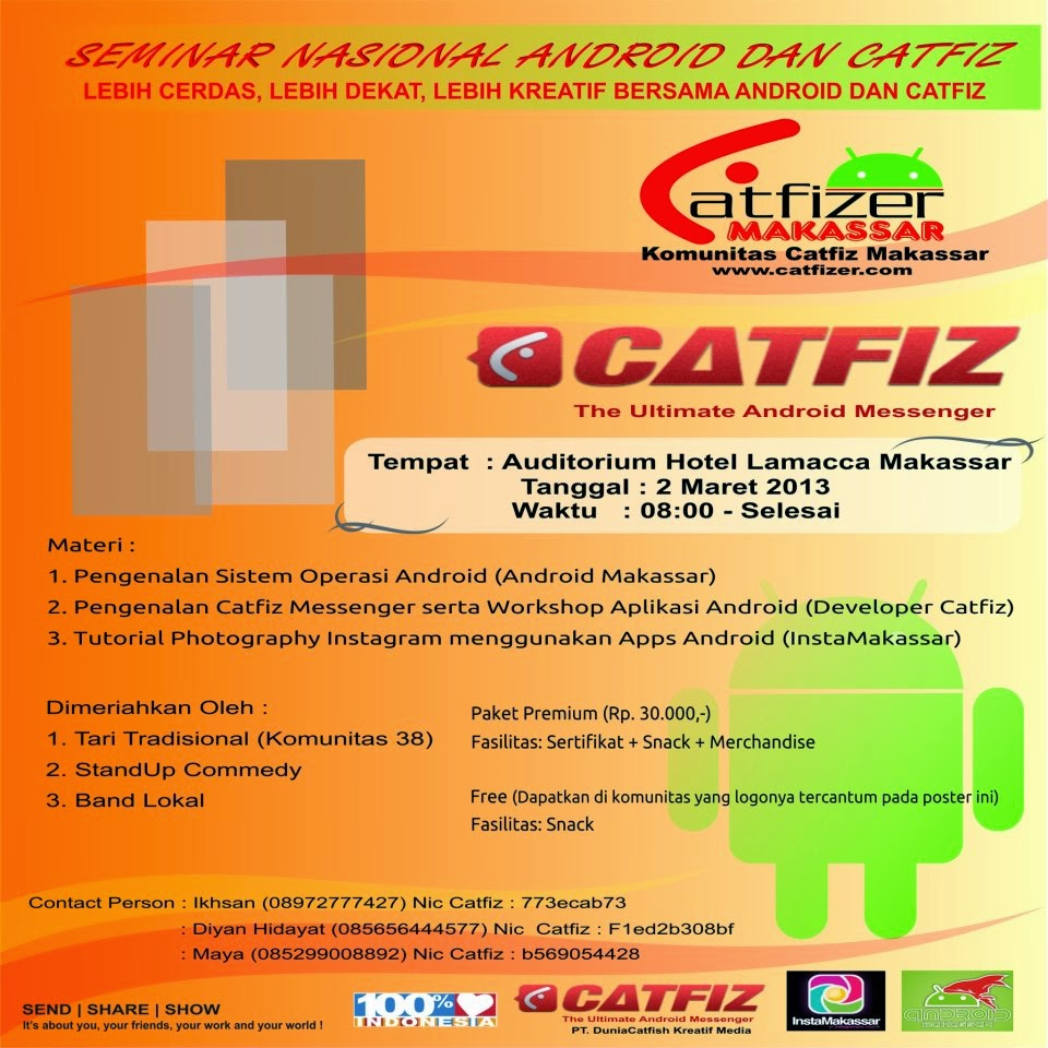 Seminar Nasional Android & Catfiz