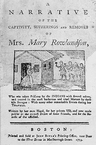 a great book study narrative of the captivity and restoration of  narrative of the captivity and restoration of mrs mary rowlandson