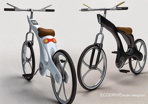 Ecodrive - a bicicleta smartphone