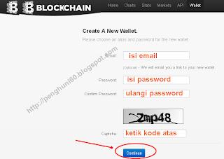 daftar di blockchain