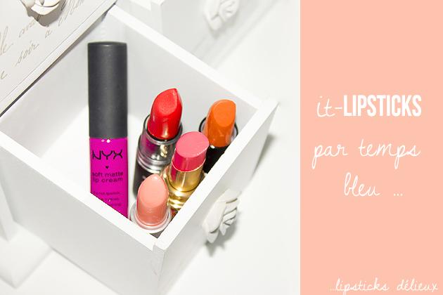 5 rouges à lèvres pour cartonner cet été !