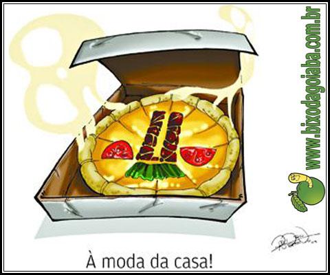 Hoje é o dia que os políticos mais gostam: Dia da Pizza