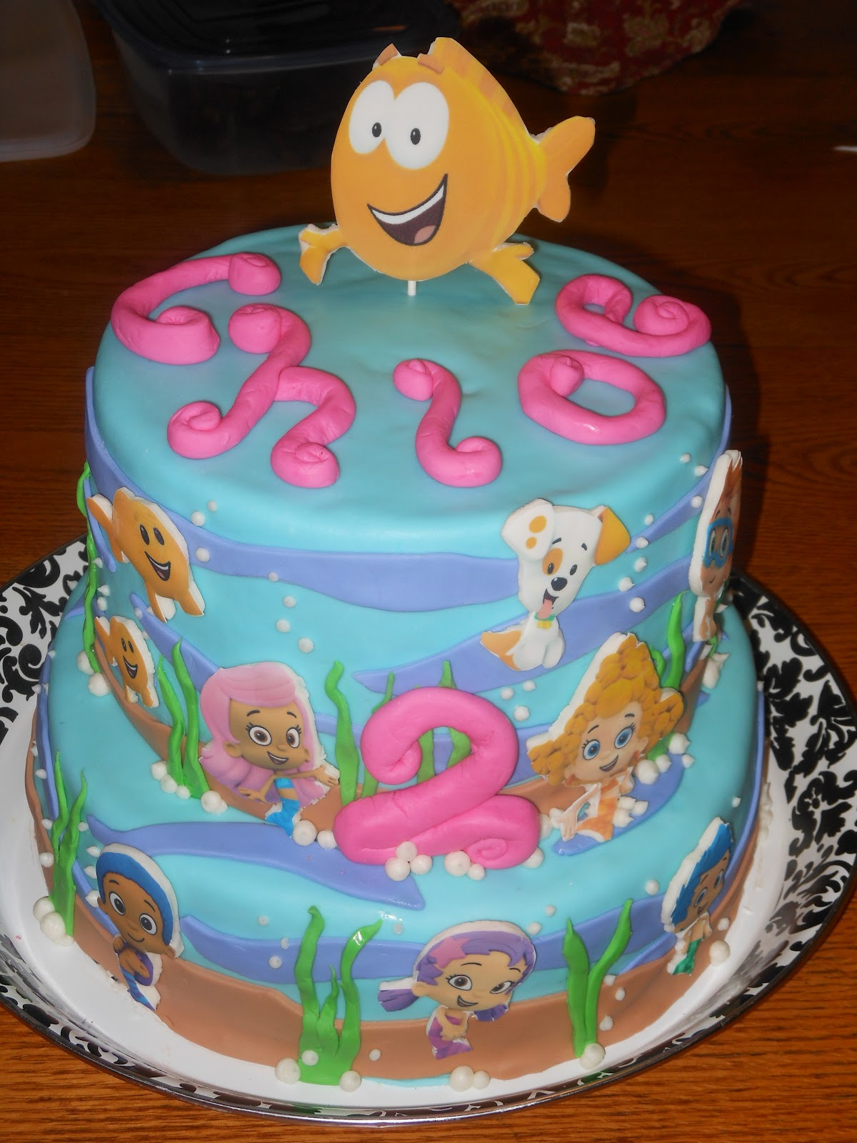 Cake Designs By Patty : PATTY CAKES: Bubble Guppies Cake