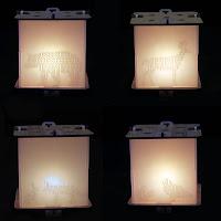 Woodland Animal Night-lights side view