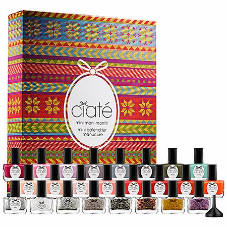 CIATÉ Mini Mani Month-Holiday Calendar Countdown Manicure