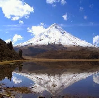 how tall is chimoborazo mountain