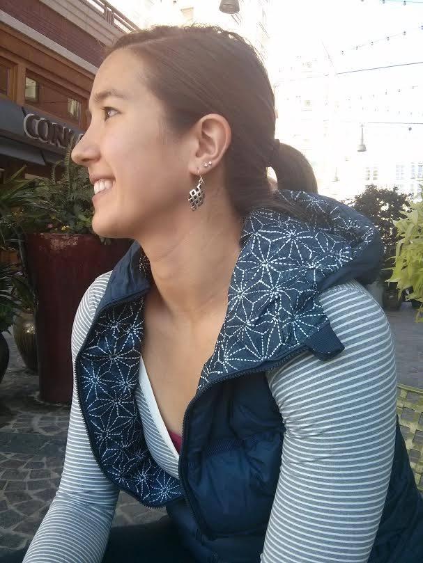 lululemon sashico star chilly chill inkwell vest