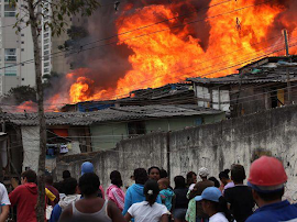 Incêndios criminosos em favelas de São Paulo