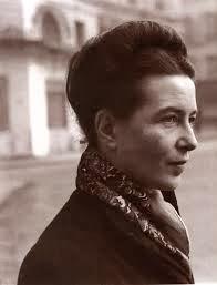 Ponto Xadrez com 3 cores e Simone de Beauvoir