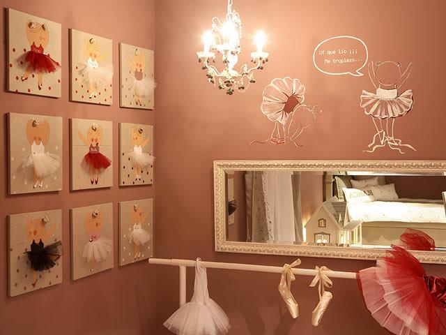 Utilisima Decoracion Cuadros ~   Inspiramos en las Bailarinas en estas Decoraciones de cuartos de Bebes