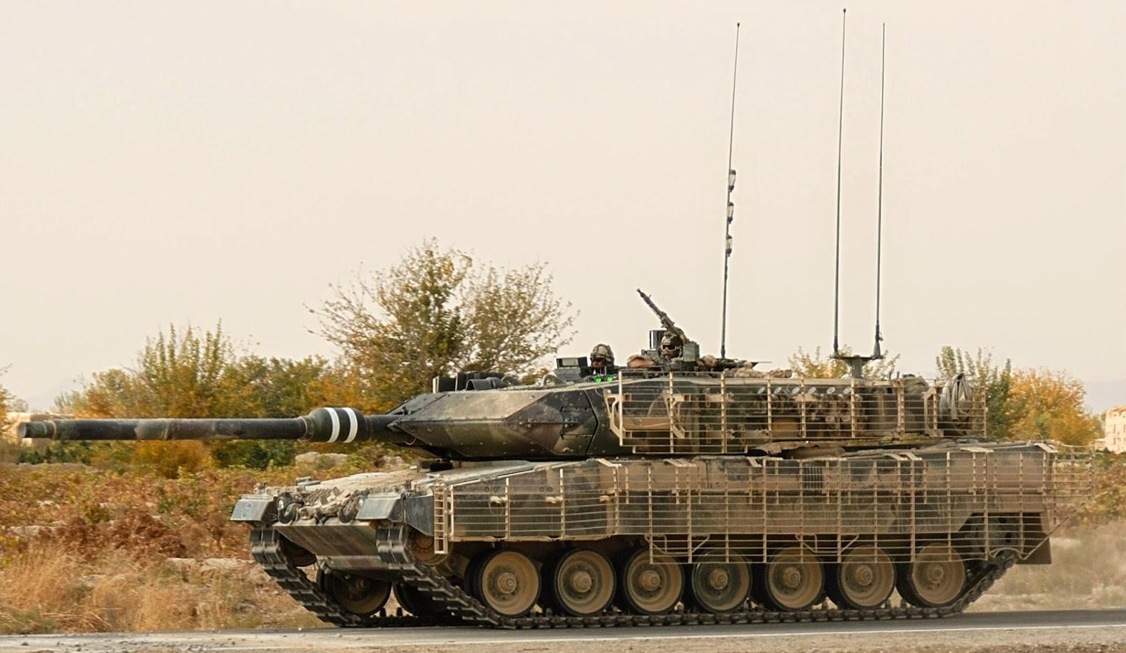 Carro de Combate Aleman Leopard