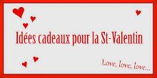 Idées cadeaux pour la Saint-Valentin !