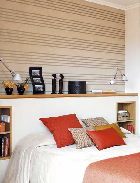 siga estos consejos para decorar un dormitorio con muebles de roble