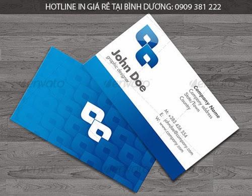 In name card giá rẻ tại Bình Dương