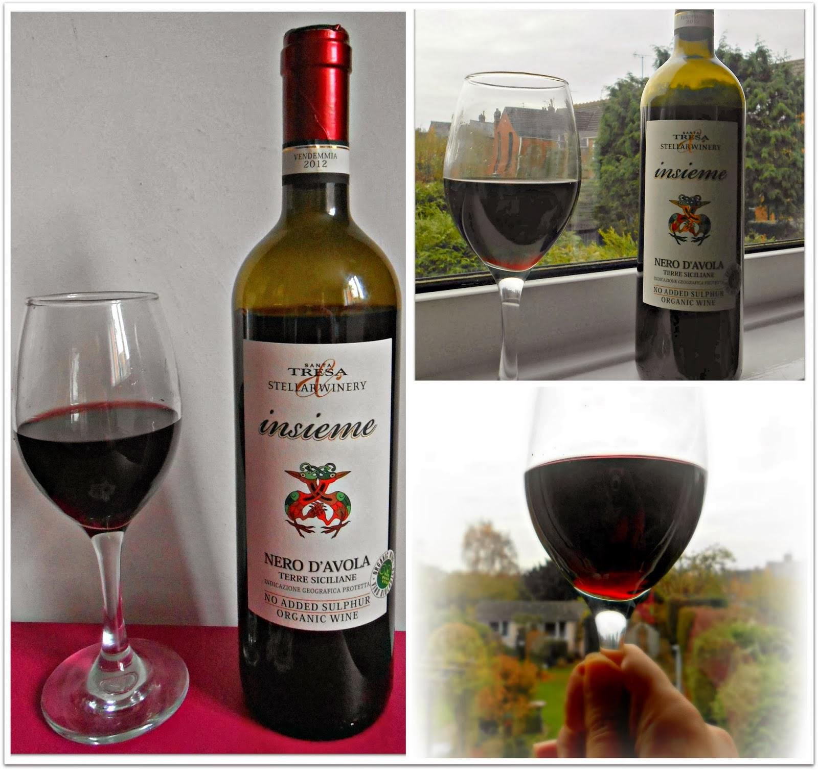 Insieme Nero D'Avola Organic Red Wine