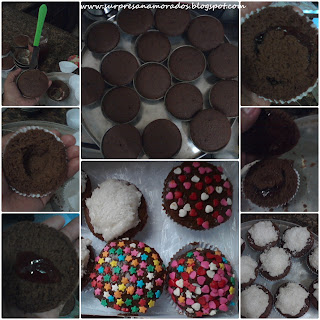 cupcakes para namorados