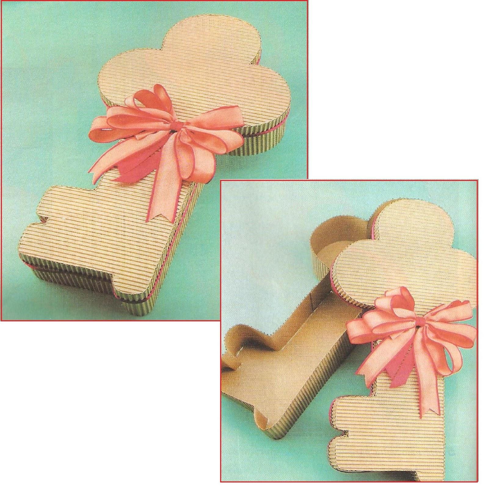 de uma caixa muito charmosa na forma de chave ideal para os namorados #9F4C2C 1585x1600