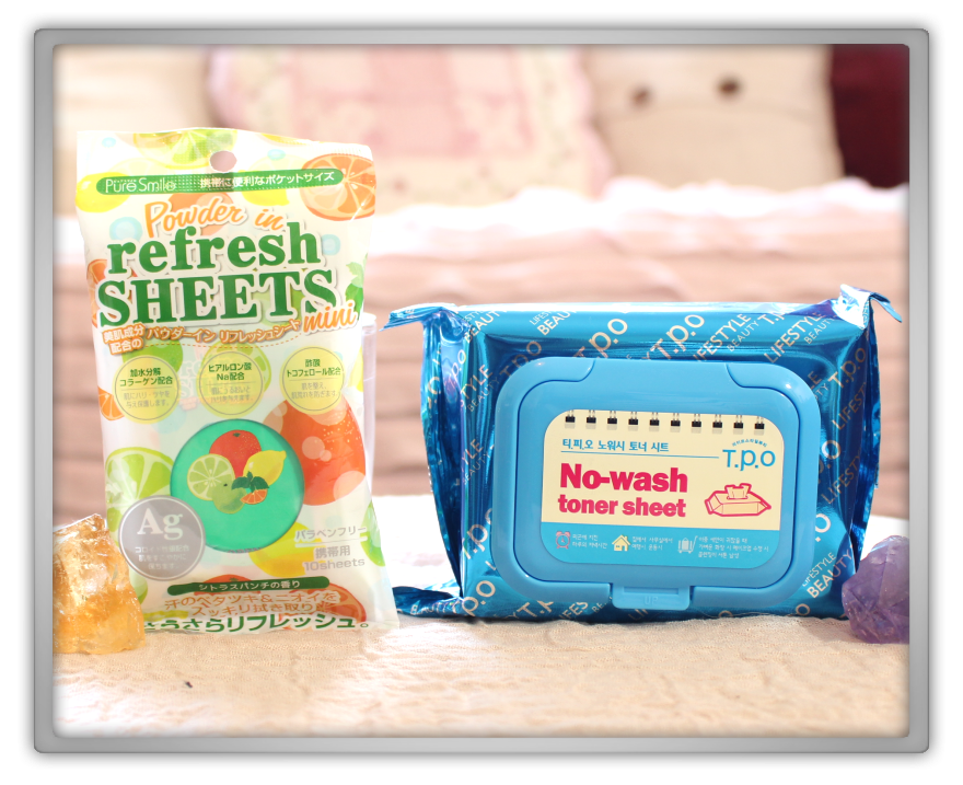 겟잇뷰티박스 by 미미박스 memebox beautybox Special #25 Traveler's Beauty Kit unboxing review t.p.o toner sheet  pure smile refresh