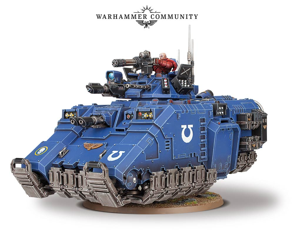 Chapter Approved and a New Primaris Space Marine Tank...
