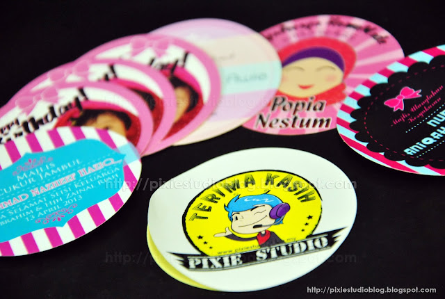 Tempah Sticker