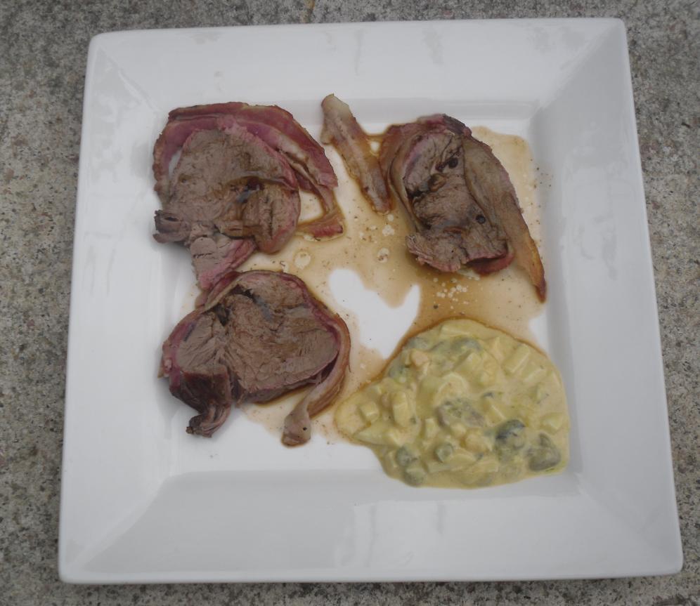 La cocina plural solomillo de ternera al horno con salsa for Cocinar solomillo de ternera al horno