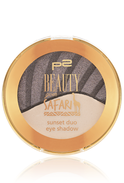 p2 Limited Edition: Beauty goes Safari - savanna sunset duo blush - www.annitschkasblog.de