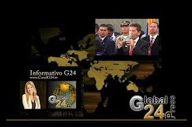 ESCÚCHENOS G24 INFORMATIVO EN 1440 AM COLMUNDO RADIO 12 DEL DÍA  HORA COLOMBIA