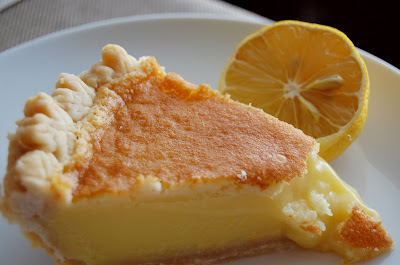 PromiseMe2....and A Lot About Food!: Meyers Lemon-Buttermilk Chess Pie