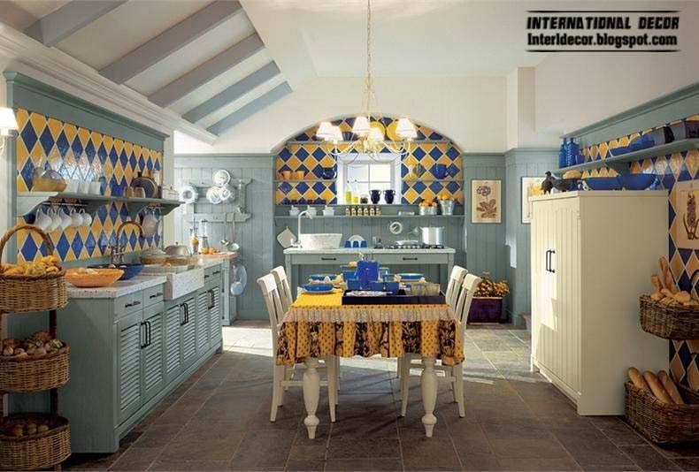 Country style kitchens - 15 the best kitchens in country style