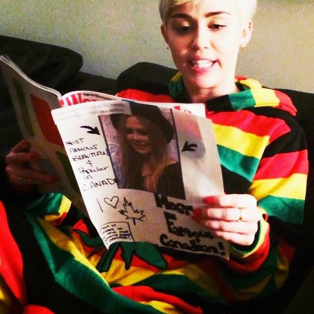 Miley Cyrus y Avril Lavigne se mandan a la mierda