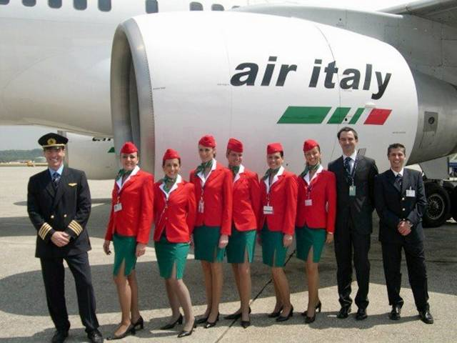 42Italy252CAirItalyAirHostess - Air Hostess From Different Countries