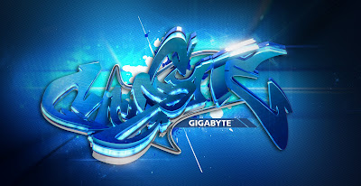 Inspirasi 3D graffiti digital graphic