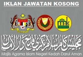KEKOSONGAN JAWATAN MAJLIS AGAMA ISLAM KEDAH