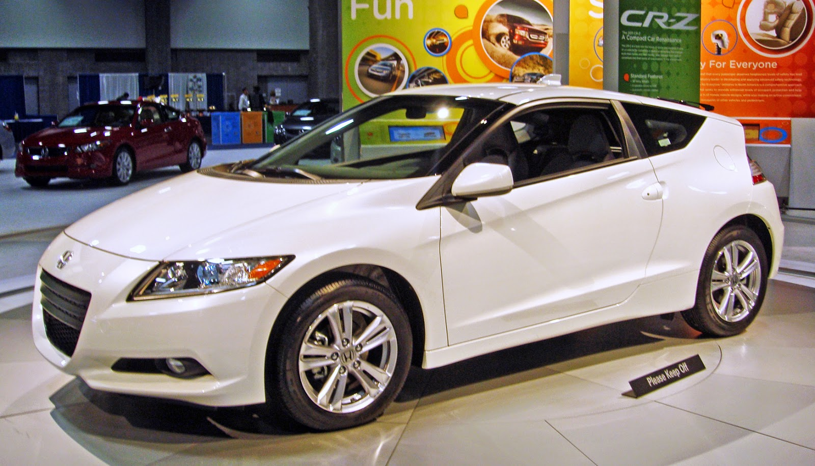 Honda CRZ, latest sport car honda