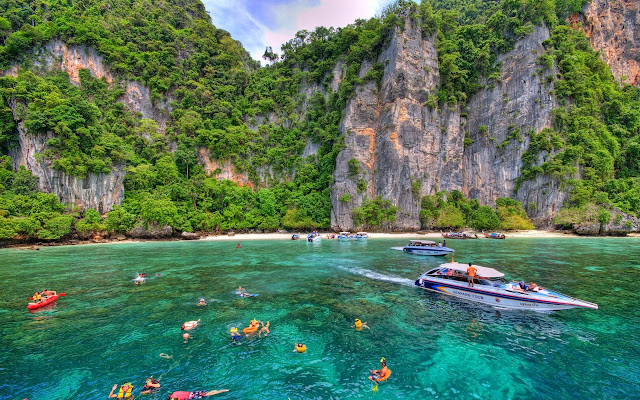 Phi Phi Island dalam mimpi