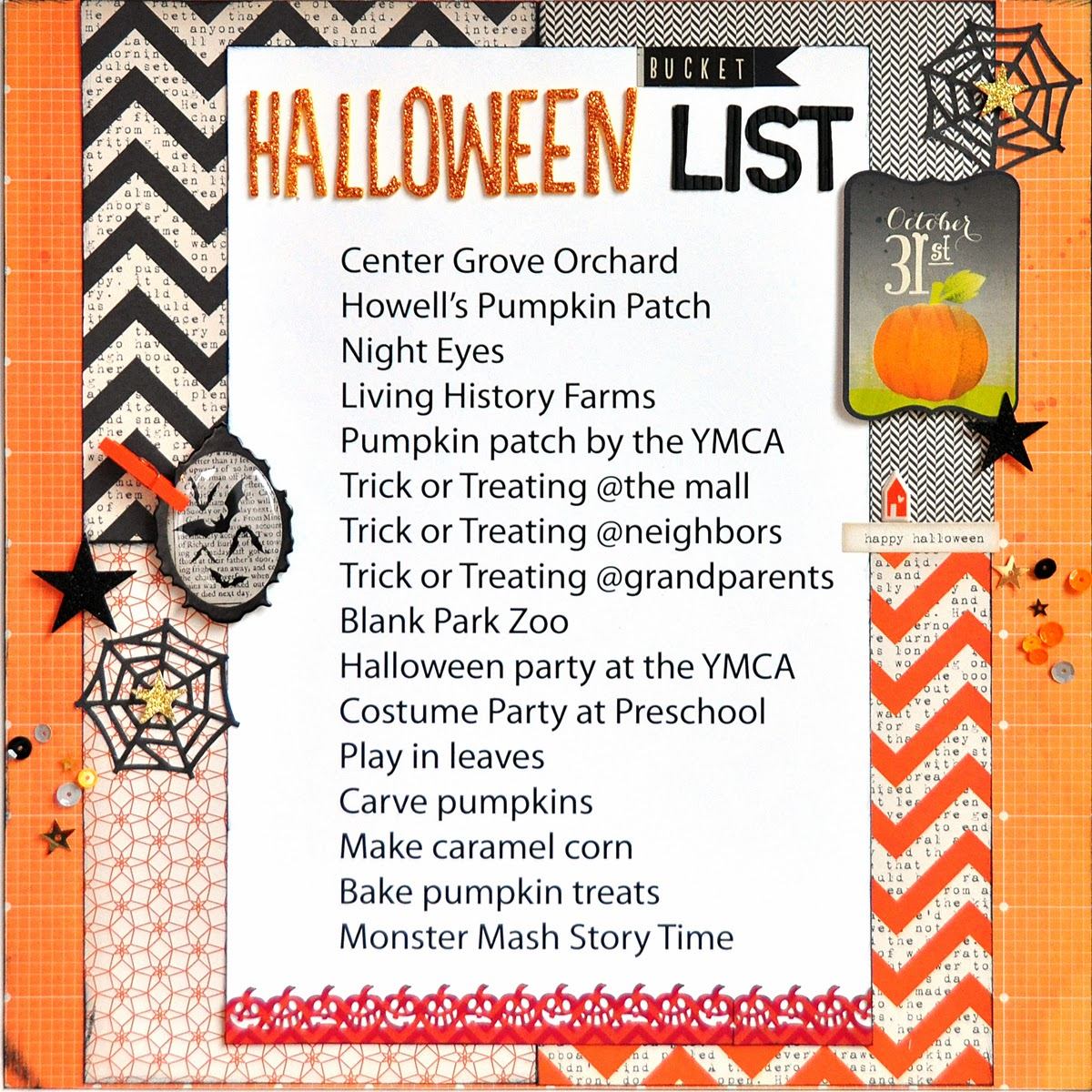Blessed Scrapper: American Crafts: Ballet Girls and Halloween ...