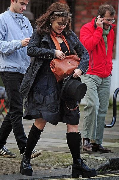 Street Style of Helena Bonham Carter