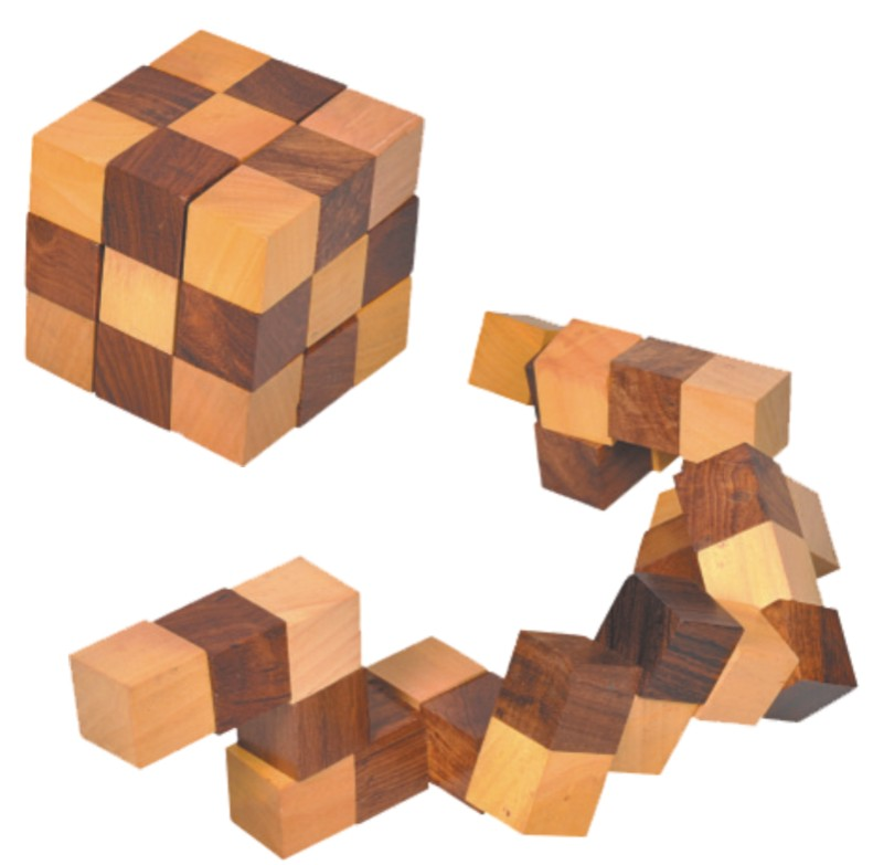 Introduction A Snake Cube Puzzle