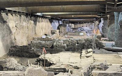 Μετρό Θεσσαλονίκης: Έκκληση του ΣΕΑ για διατήρηση των αρχαιοτήτων εντός του σταθμού Βενιζέλου