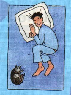 sifat kepribadian berdasarkan posisi tidur